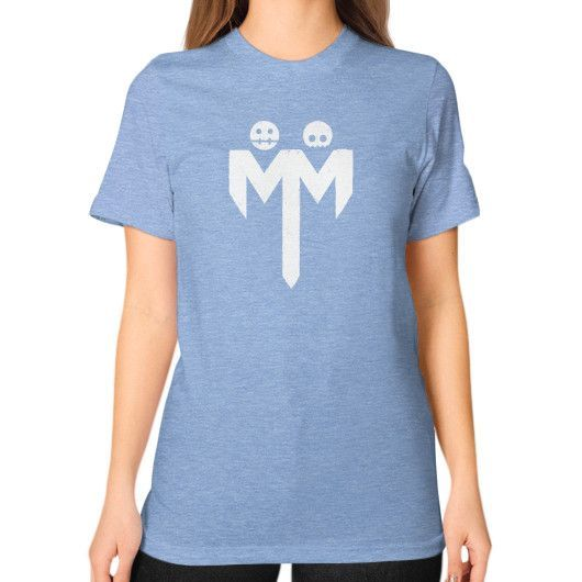 MM Distressed Unisex T-Shirt (on woman)