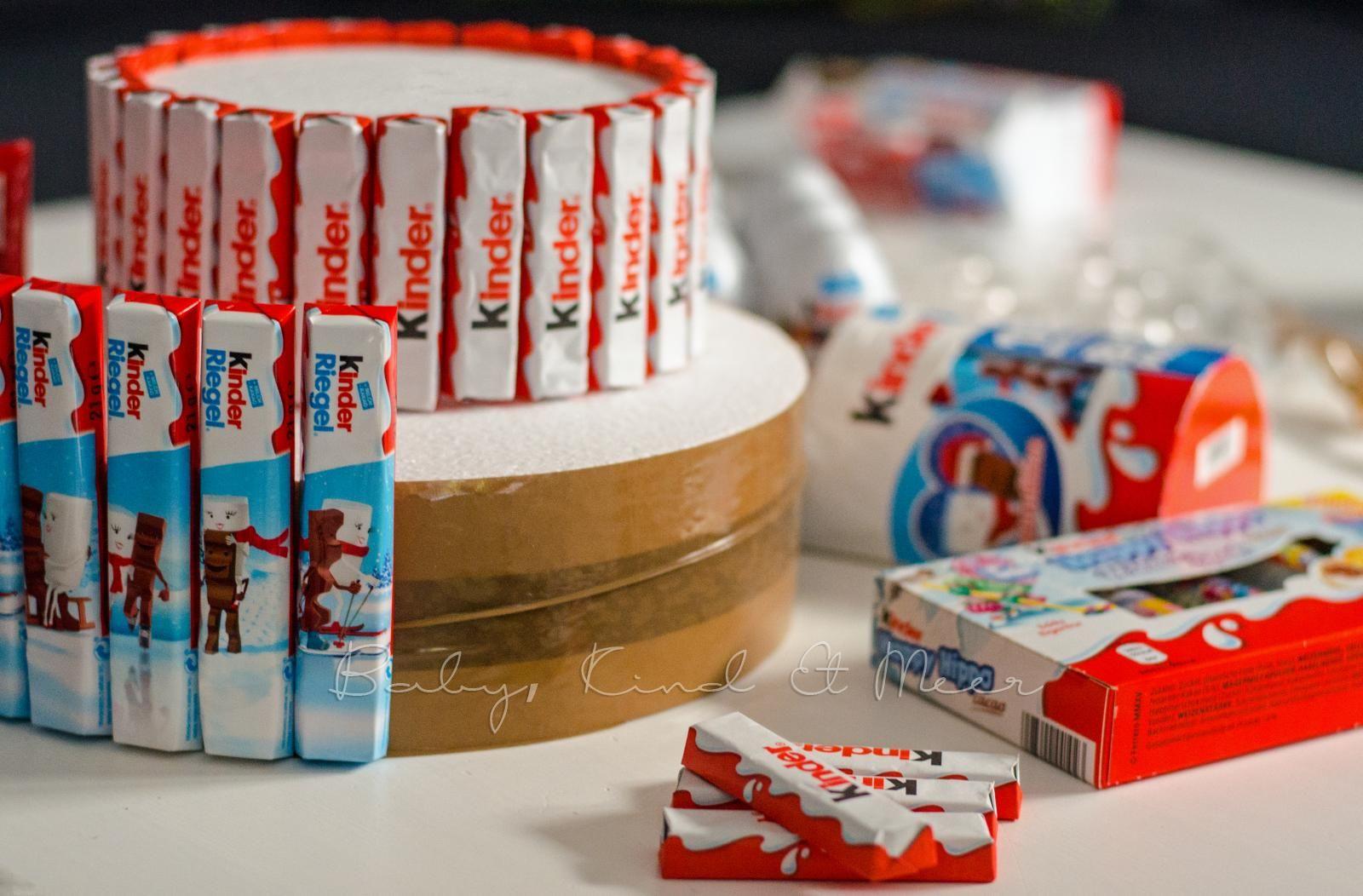 kinderschokolade torte 5 diy und selbermachen pinterest birthdays gift and candy
