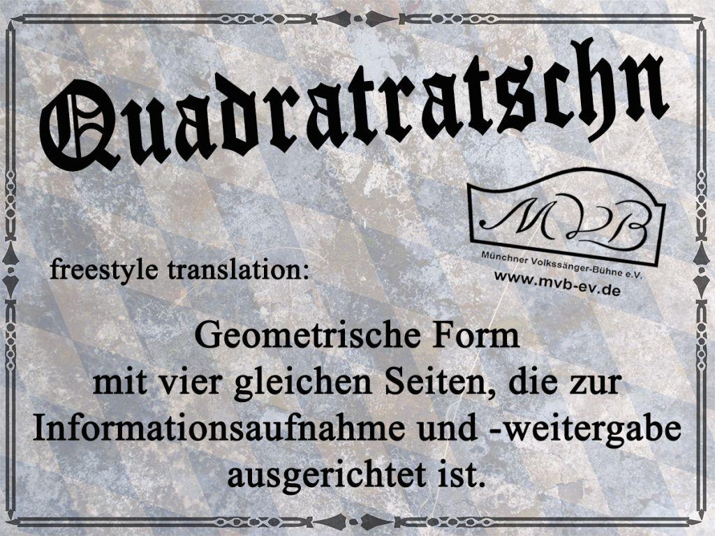Bayerische gedichte lustig