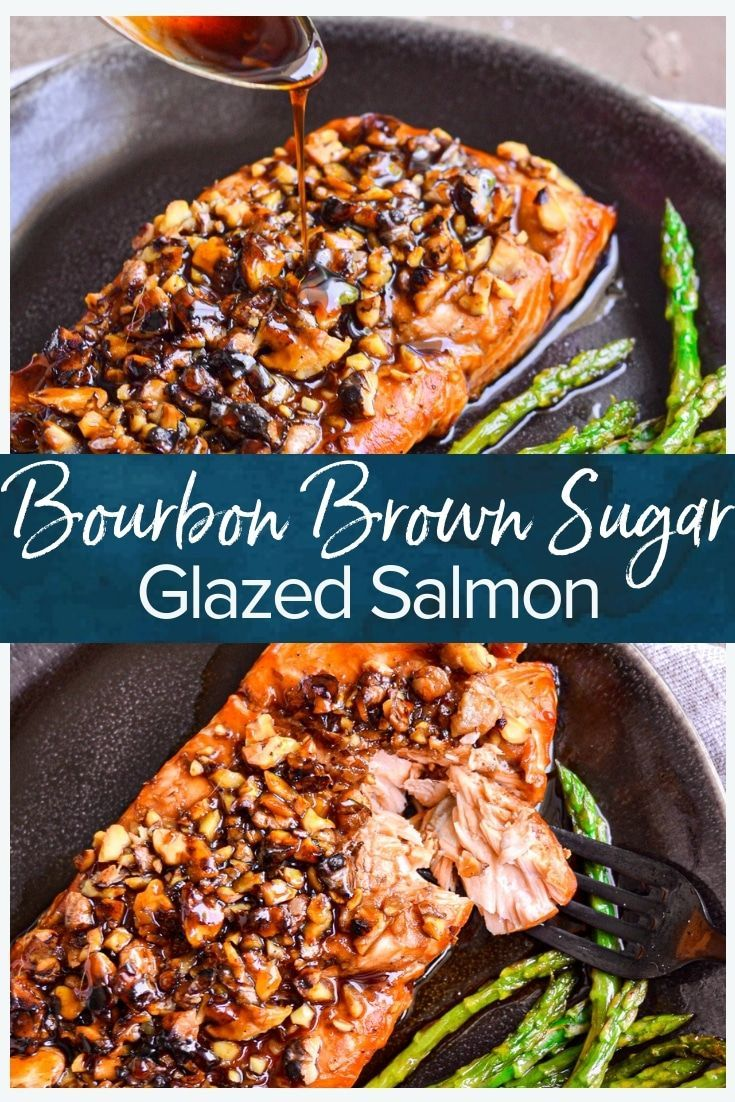 Photo of Bourbon Brown Sugar Salmon Recipe – The Cookie Rookie® (VIDEO!)