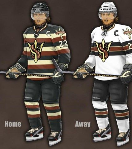 4 Concept Jerseys For Nhl Expansion Teams Hockey Logos Nhl Hockey Teams
