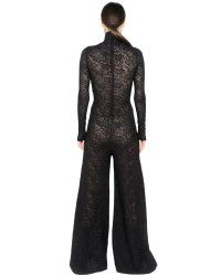 52dd3e64a88e Stella mccartney Wool Lace Jumpsuit in Black