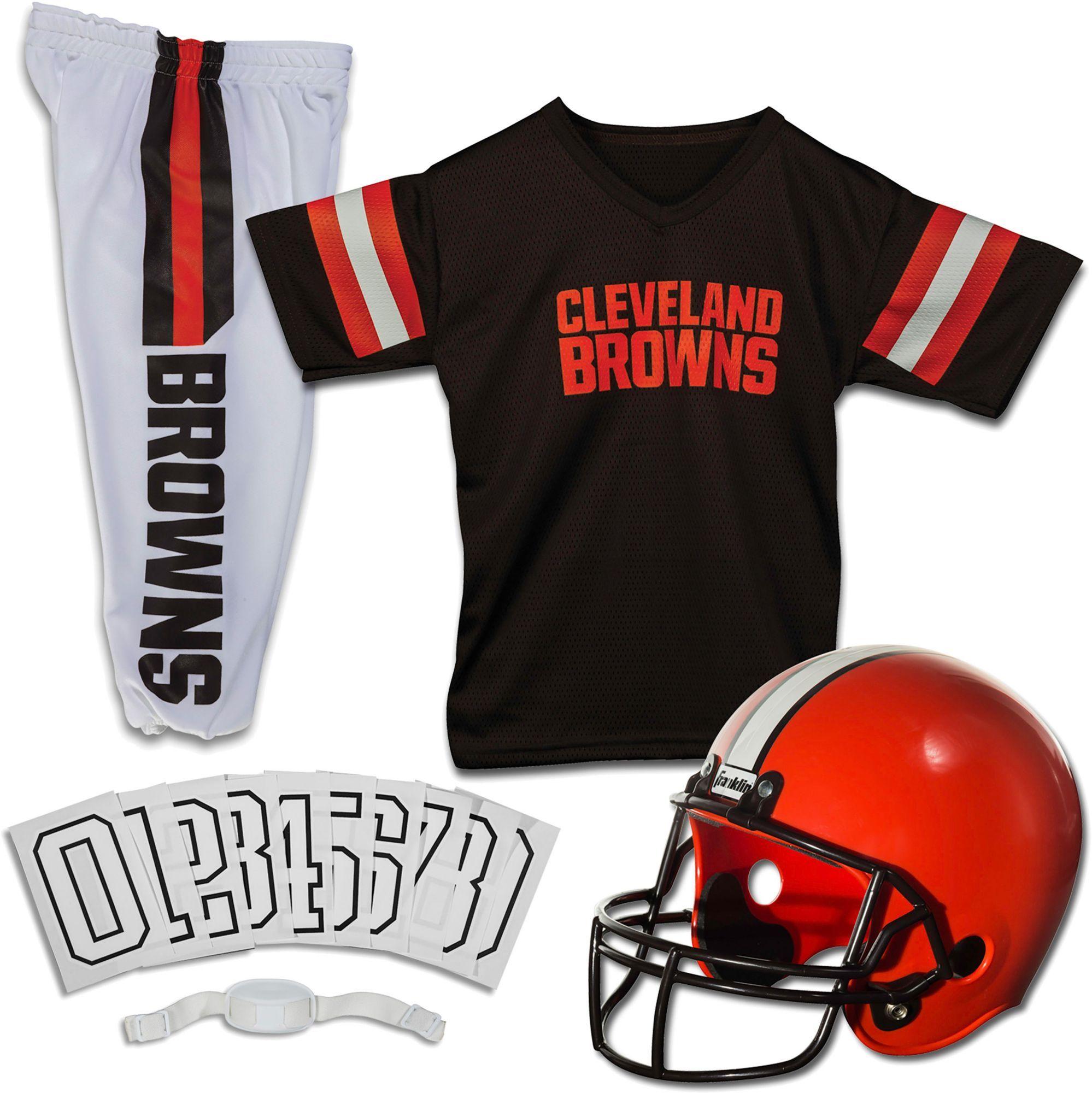 Franklin Cleveland Browns Youth Deluxe Uniform Set Nfl