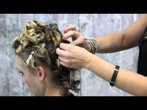 Modern Bridal Updo | Summer 2014 - YouTube