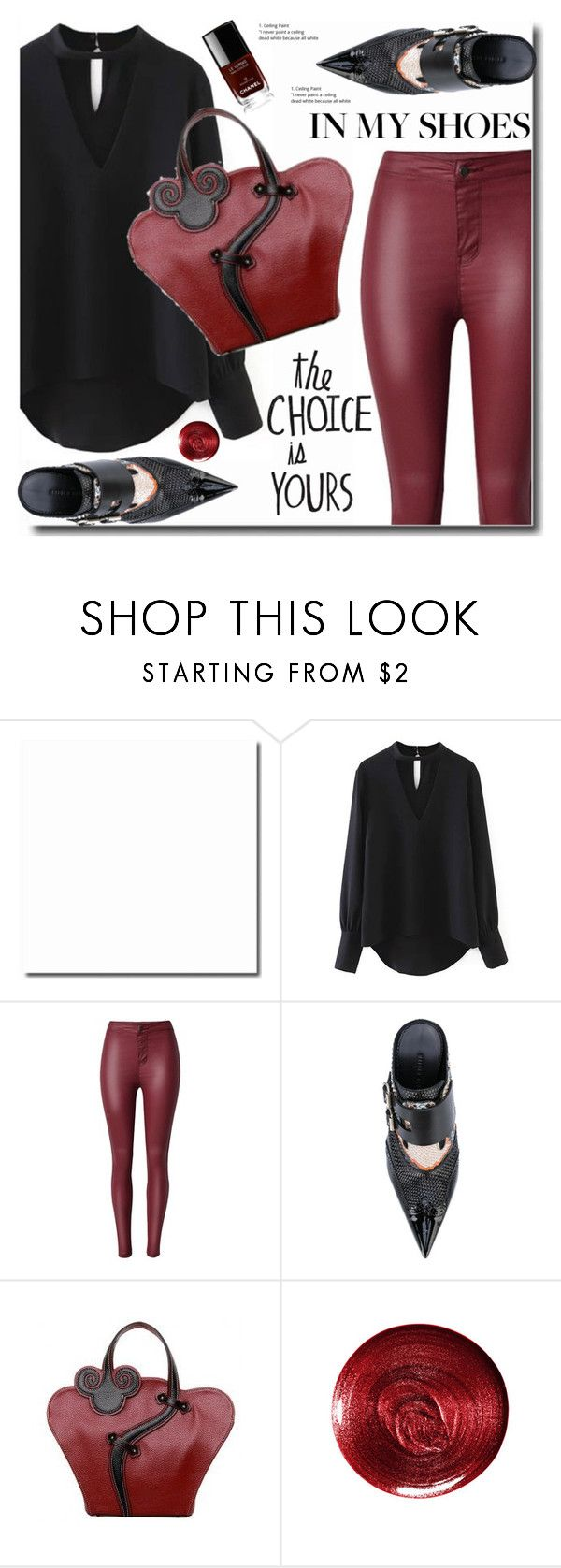 """In my shoes"" by soks ❤ liked on Polyvore featuring Haider Ackermann, Christian Dior and Chanel"