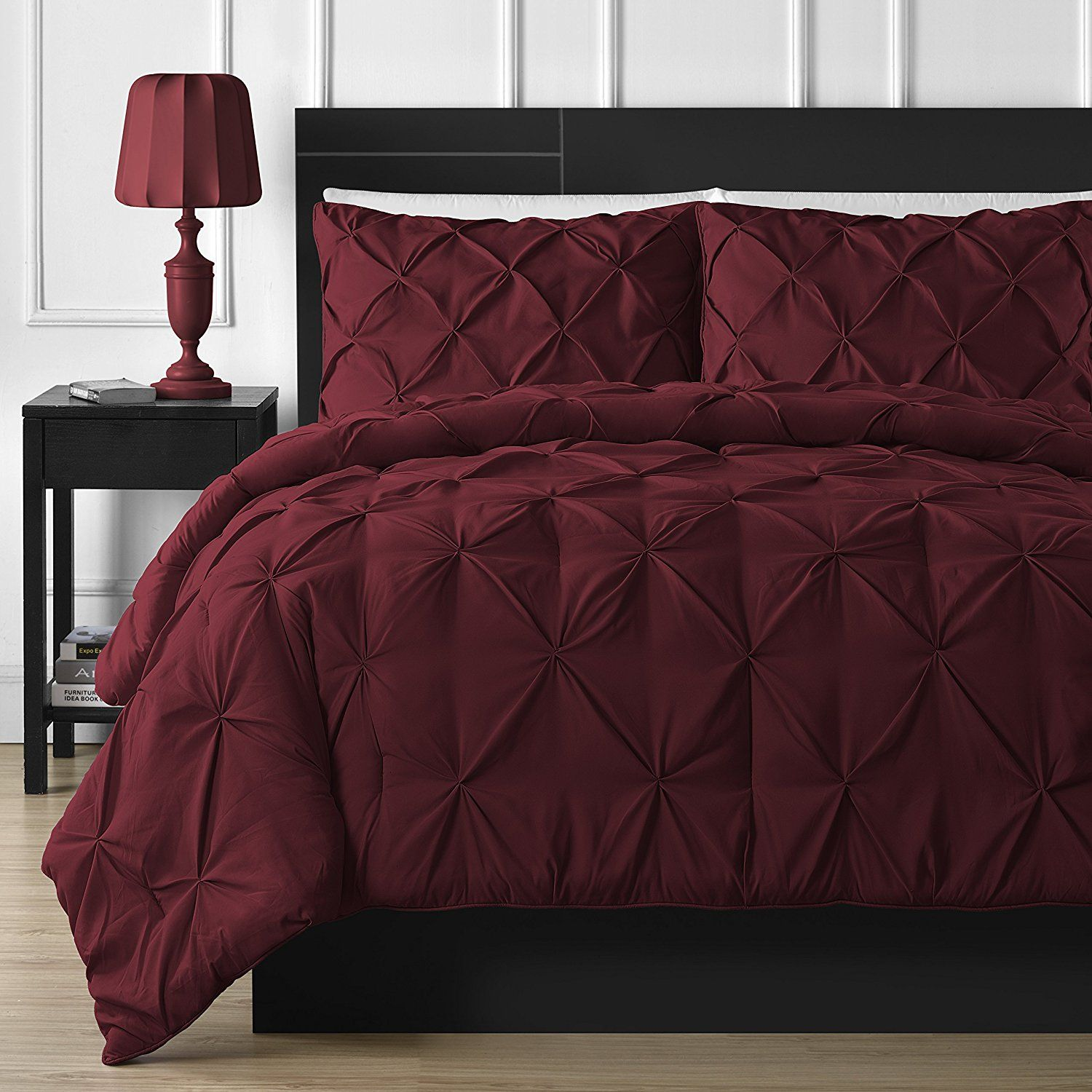 Burgundy Bedding Sets Cheap Sale | Bedroom | Maroon bedding ...