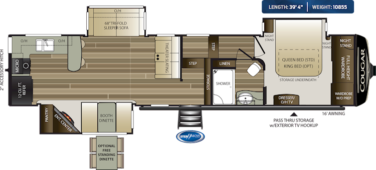 Pin On Sept 2020 Keystone Rv Floorplans