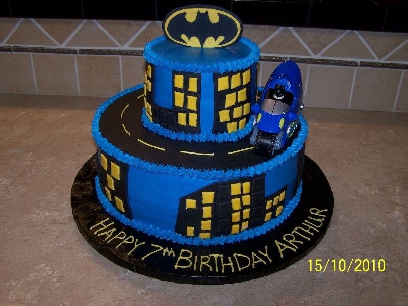 Professional Batman Cake
