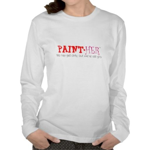 paint-HER Long-sleeve Tee: Her-Wear.com was started by a woman who worked in home improvement, was a home improvement enthusiast and also loved comfortable yet fashionable clothing and fun accessories. She was proud of the work she did and wanted others to know about it. She flaunted her femininity  and most importantly, she still had a sense of humor. Her-Wear.com helps her and other women to define the type of empowered woman they are by not only what they do but who they are on the…