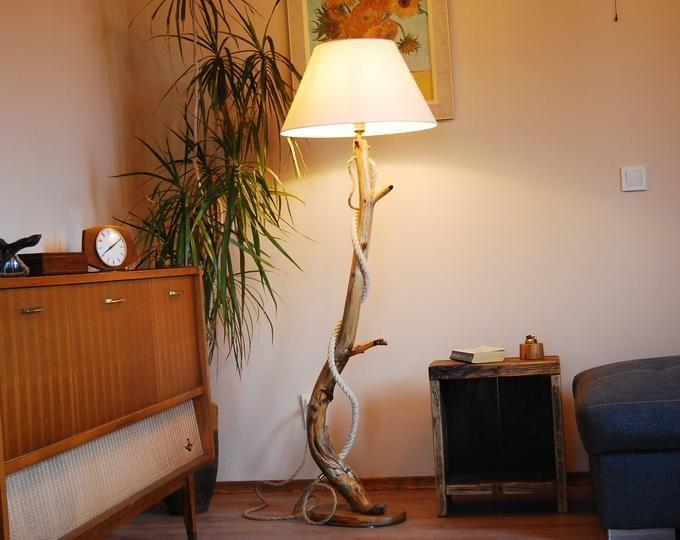 Floor Lamp Arc – Wooden Floor Lamps – Modern Lighting- Arc F…