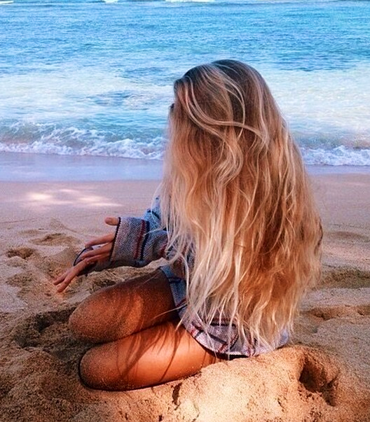 blonde beach hair tumblr - Google Search | hairstyle | Pinterest ...