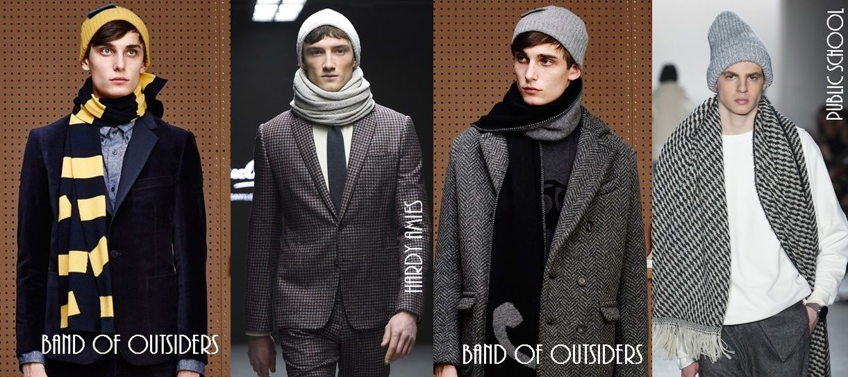 84d87b20859 Men s hats and scarf sets trends-fall-winter 2015-2016