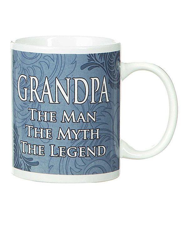 Another great find on #zulily! GANZ Blue 'Grandpa' Mug by GANZ #zulilyfinds