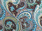 3 YARDS STRETCH POLY LYCRA FABRIC WITH PAISLEY PRINT - fabric, LYCRA, PAISLEY, POLY, Print, Stretch, yards