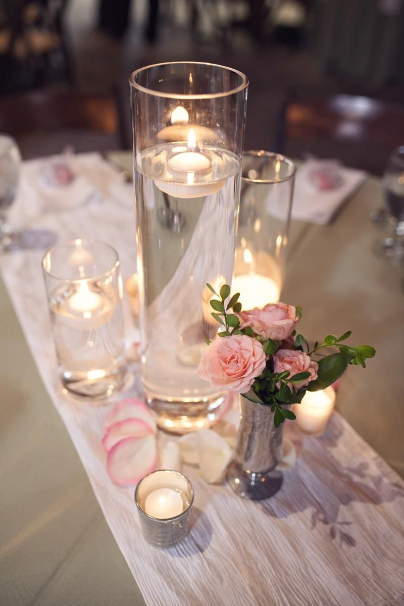Elegant wedding decoration ideas  Romantic Timeless Floral Wedding Centerpieces  Wedding centerpieces
