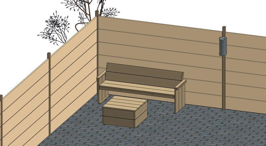 Tuin Zelf Ontwerpen : Doe het zelf ontwerpensteigerhout ontwerp tekeningen tuin