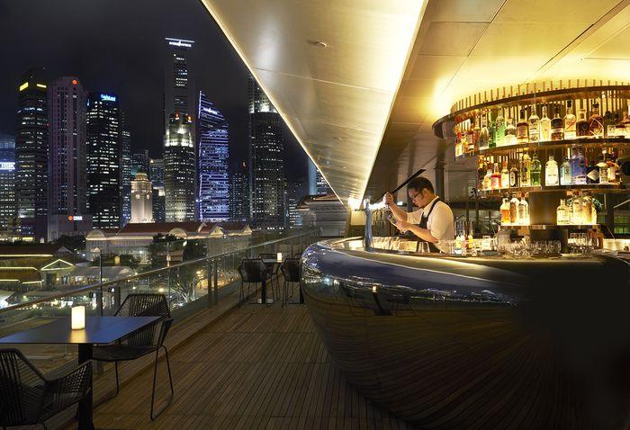 Smoke Mirrors Singapore Singapore Asia Bar Restaurant