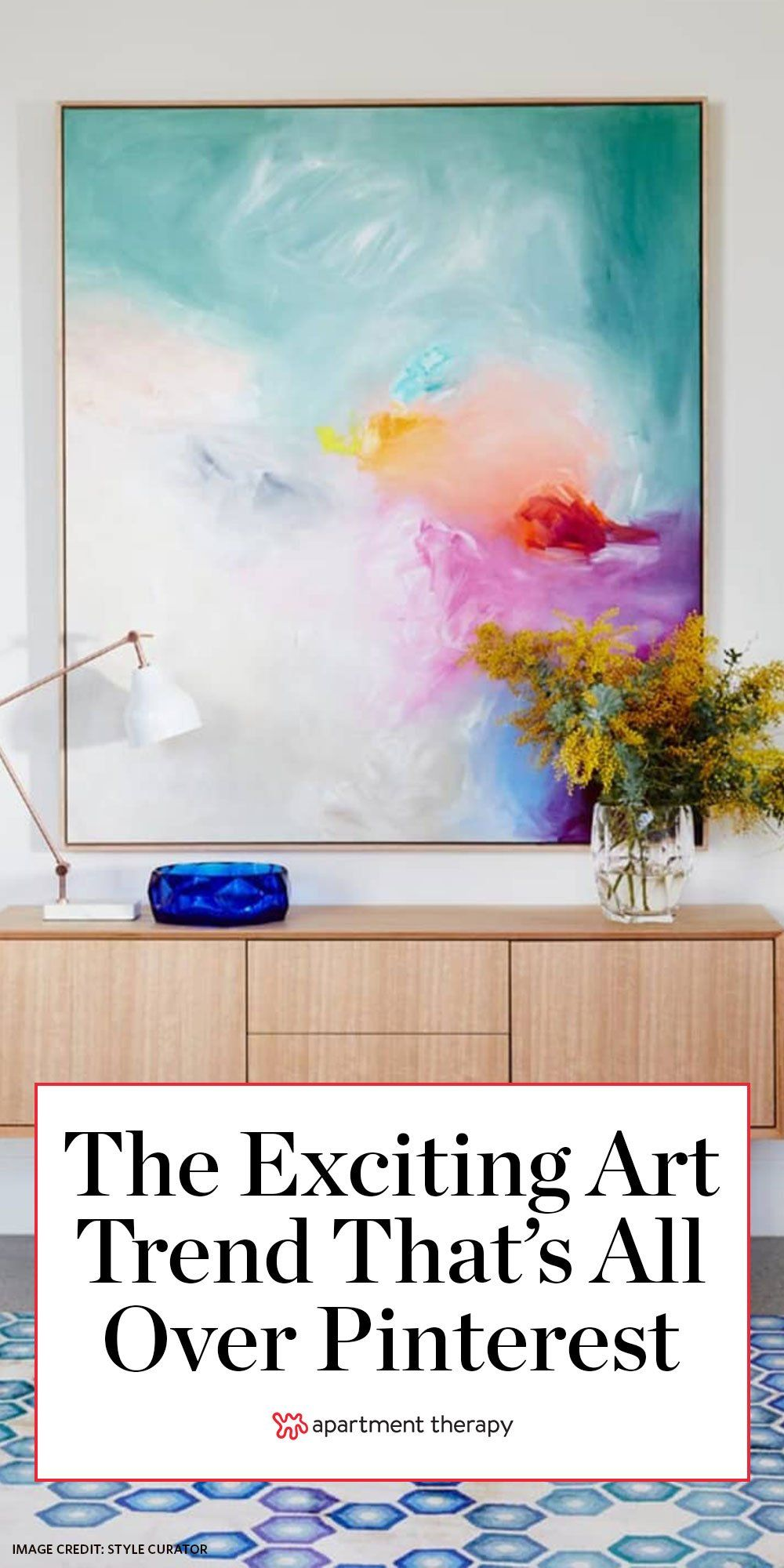 The Exciting Art Trend That S All Over Pinterest Right Now Art Prints For Home Art Trends Wall Collage