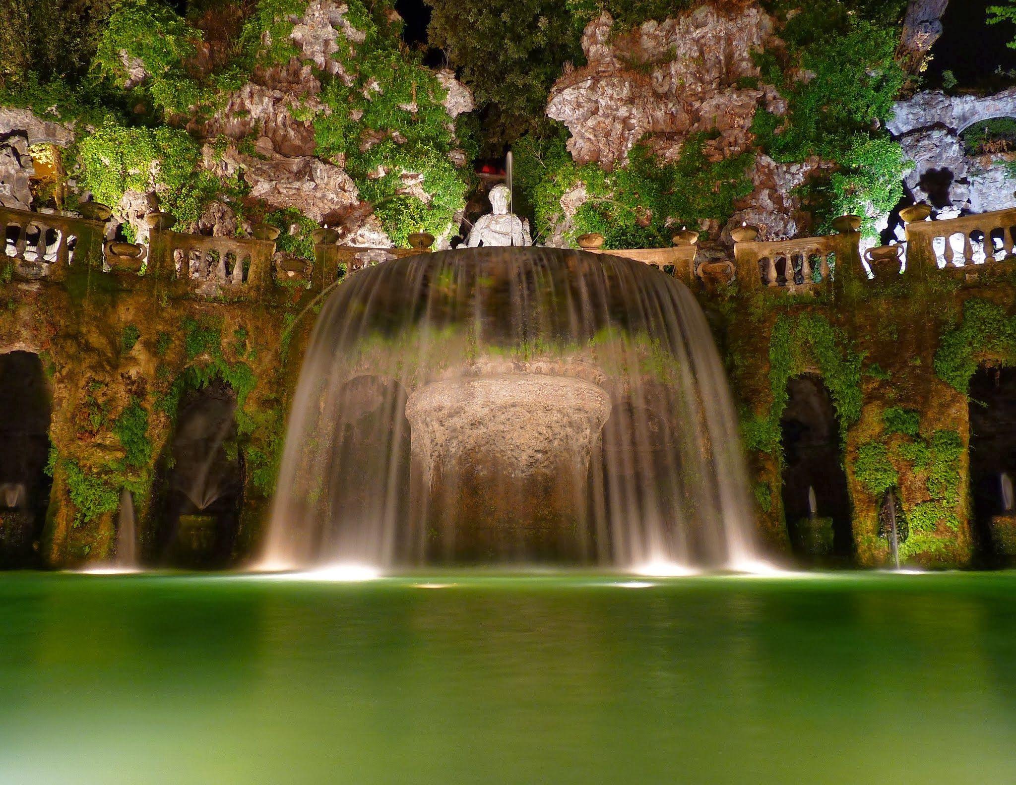 la fontana dell\'Ovato a Tivoli | Places | Pinterest | La fontana