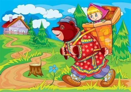 Russkie Narodnye Skazki Skazki Narodnaya Skazka Medved