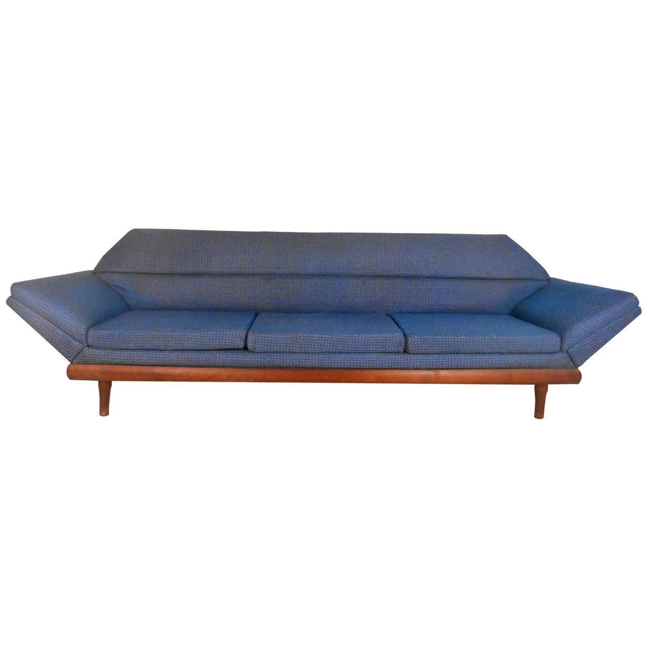 Century Furniture Sofa Quality Hamiltons Gallery Mid Modern Adrian Pearsall Style