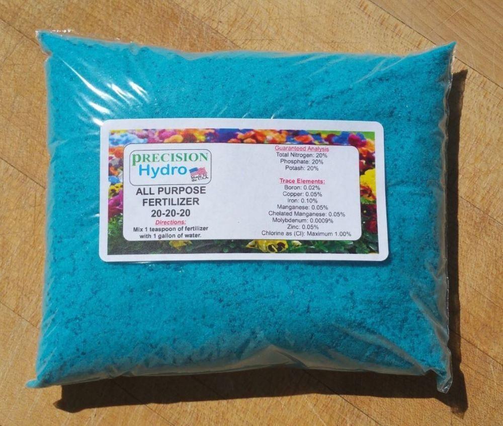 Details About All Purpose Fertilizer 20 20 20 Water Soluble Micro Nutrients Plant Micro Nutrients Fertilizer Nutrient