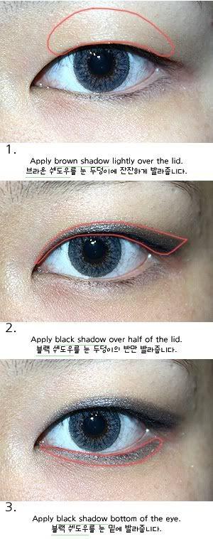 Single Eyelid Eye Shadow Makeup