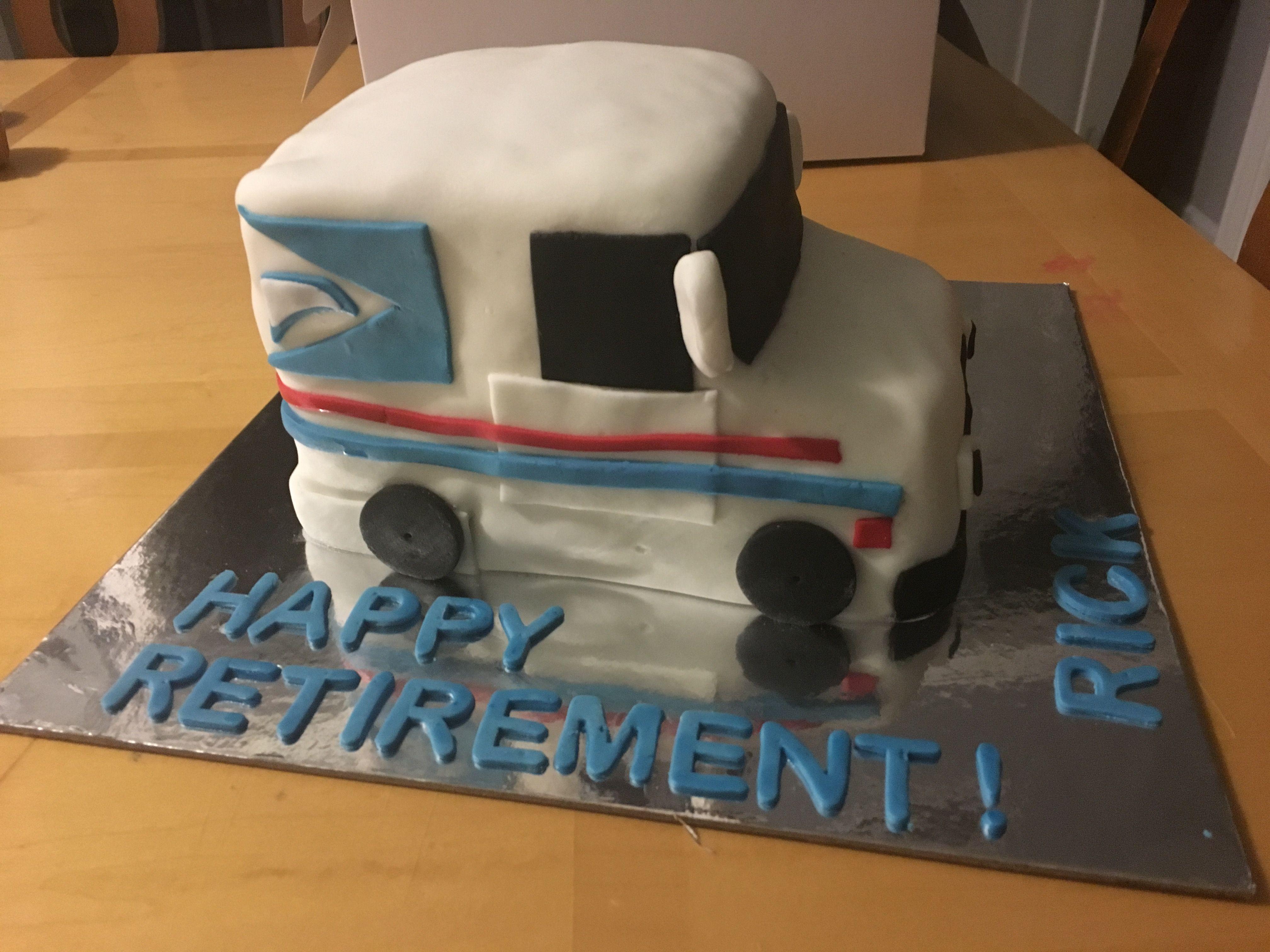 Mail truck cake Creaciones Talyne Pinterest Truck cakes