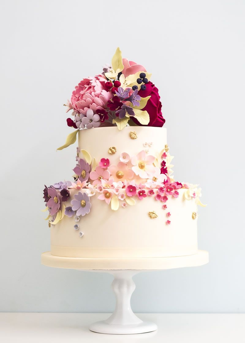 Jawdropping wedding cake designs by rosalind miller cakes