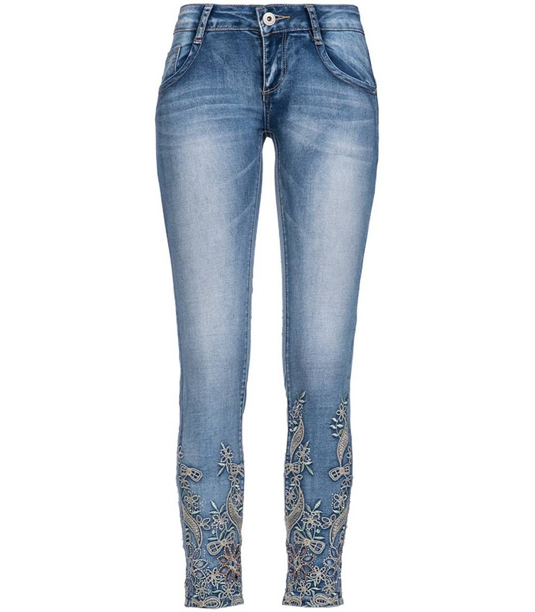 madonna damen jeans stretch hose crash mit strass strass jeans pinterest. Black Bedroom Furniture Sets. Home Design Ideas