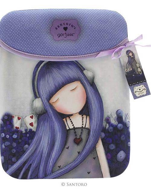 Funda neopreno Ipad y tablet Gorjuss Dear Alice 3