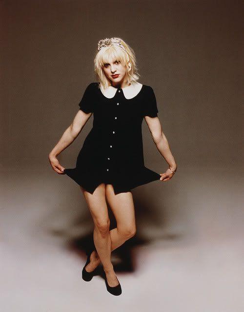 Courtney love style dress