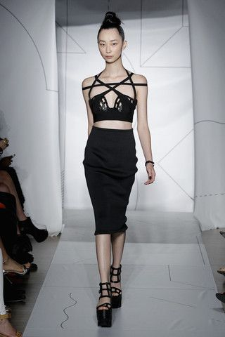#3dprinting - chromat #ss2015 http://chromat.co/collections/ss15-formula-15# LOVING THE RUNWAY THIS YEAR www.beyondbasicdetails.bigcartel.com will have body harness in the next week or so