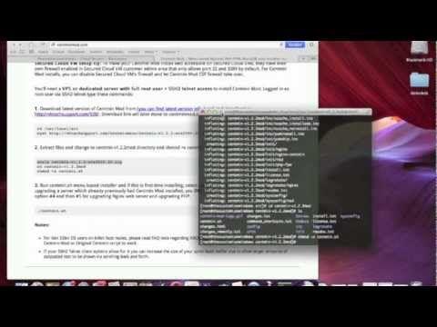 Install nginx on Rackspace Cloud Server with Centmin Mod