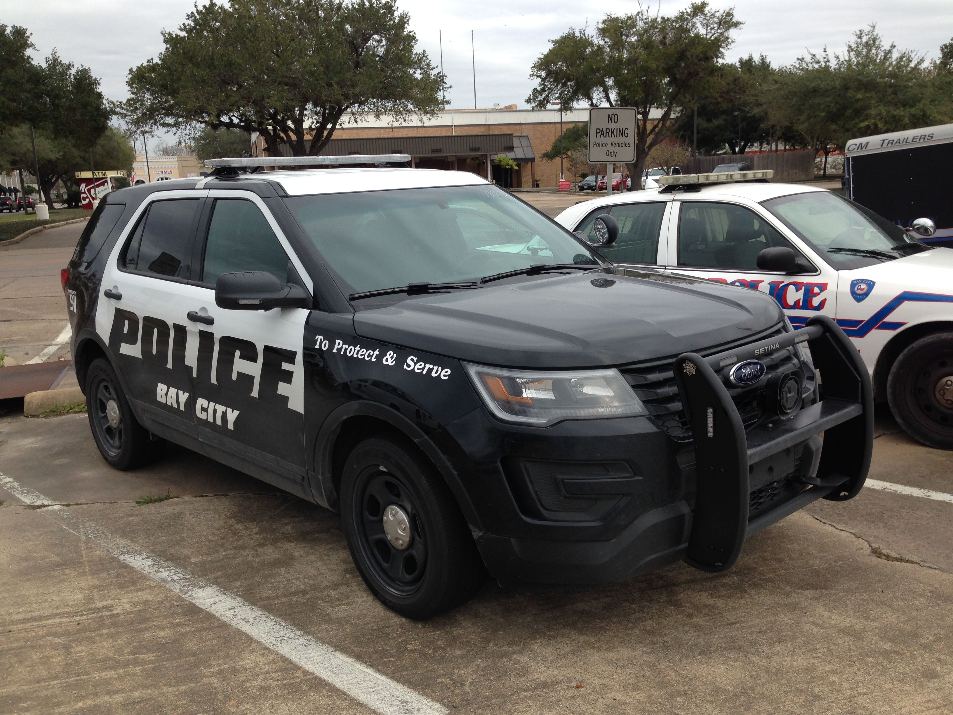 Bay City Police Ford Suv New Livery Texas Ford Suv Ford Police Suv