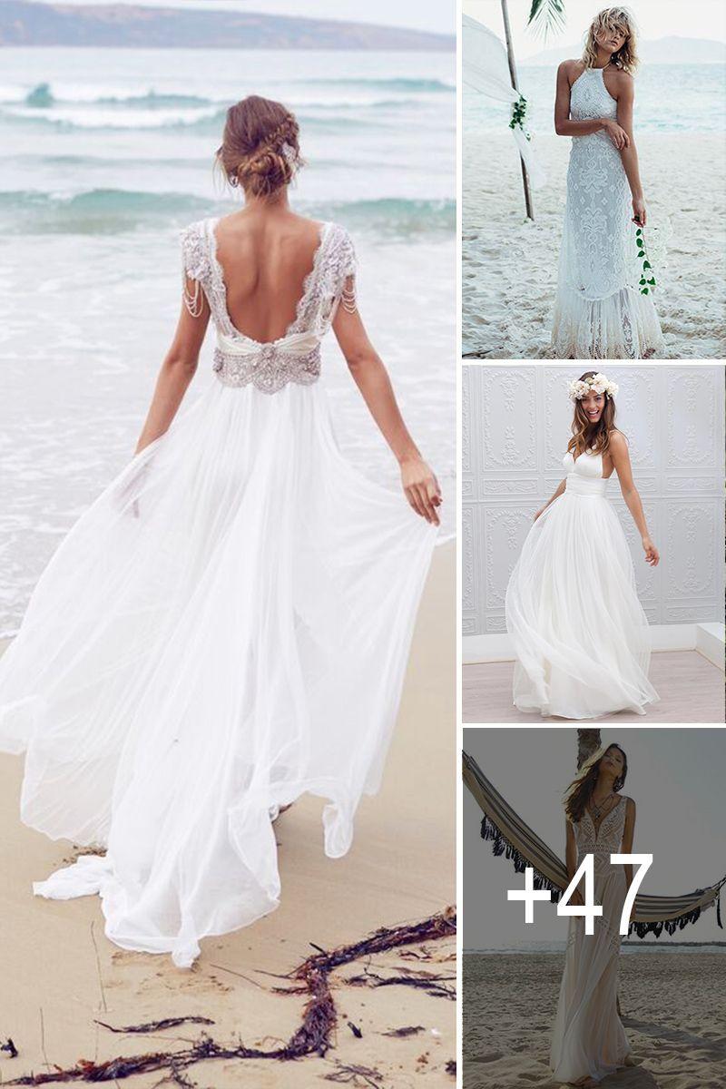 Wedding dresses beach   Beach Wedding Dresses Perfect For Destination Weddings  Simple