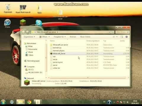 Minecraft Lan Server Erstellen Tutorial Httpdancedancenowcom - Minecraft server erstellen tutorial