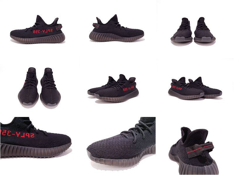 huge selection of b1582 abe66 UK Trainers 2017 Adidas Yeezy Boost 350 V2 Black Red Sample 2016 2017  chaussures de course Running Shoes Chaussures de course    pied