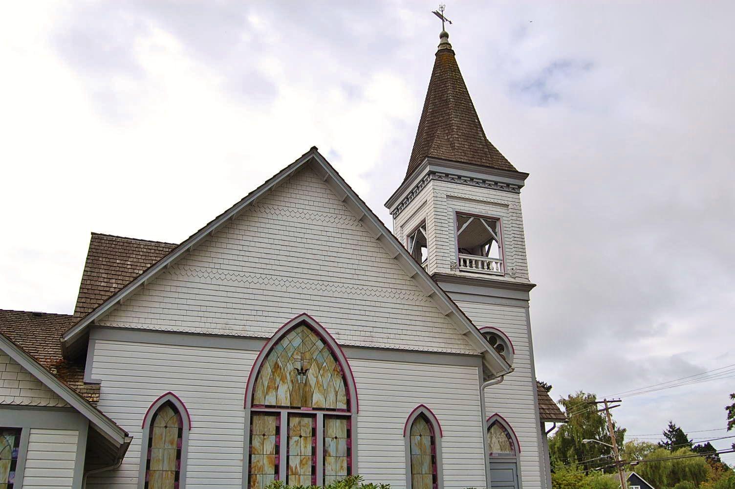 Vashon's Methodist Church is a beautiful and historic