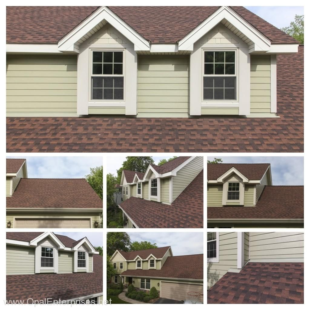 Best New Roof With Gaf Timberline Hd Roofing In Hickory Color 640 x 480