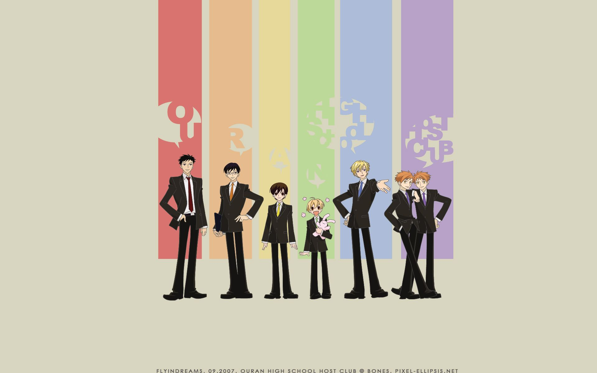 Download Ouran High School Host Club Wallpaper Youkoso