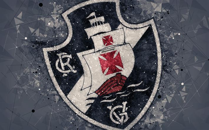 Download wallpapers CR Vasco da Gama, 4k, creative