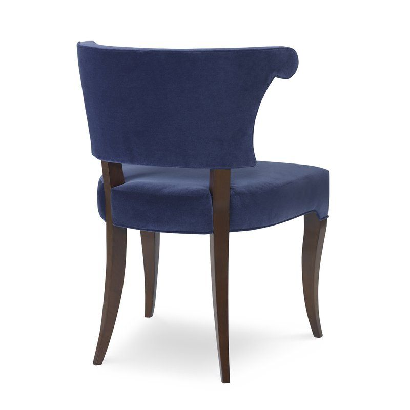 Athena Genuine Leather Upholstered Dining Chair With Images Upholstered Dining Chairs Arm Chairs Living Room Dining Chairs