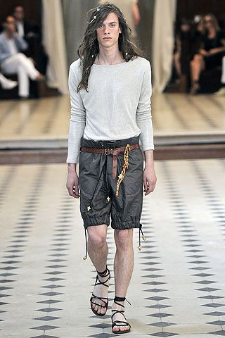 Alexis Mabille Spring 2011 Menswear
