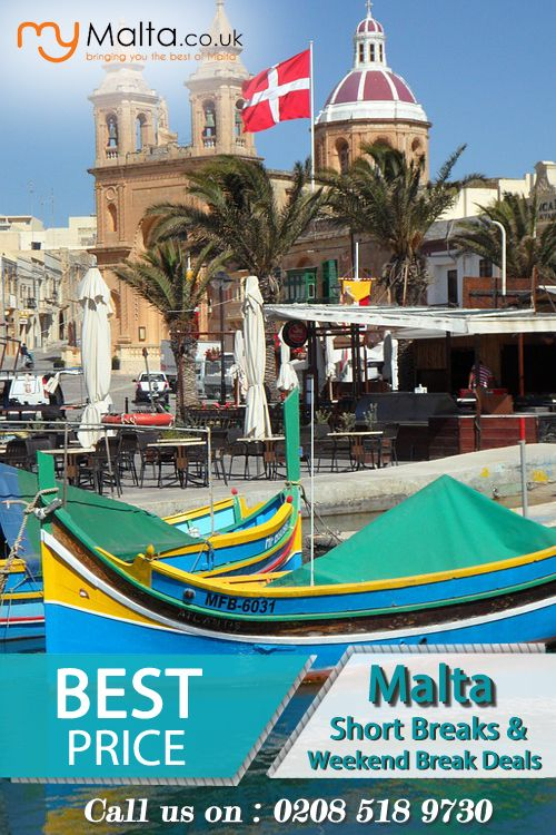 Malta Short Breaks - Cheap Holiday Offers to Malta