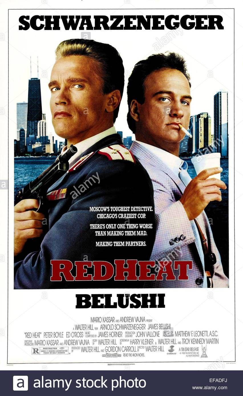 Peter Boyle He Is Cinema Posters Movie Walter Obrien Arnold Schwarzenegger Jim Orourke Otoole Police Detective