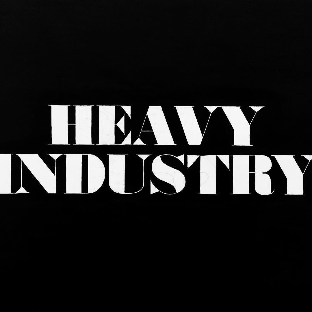 Heavy Industry- Ed Ruscha @thebroadmuseum #thebroad