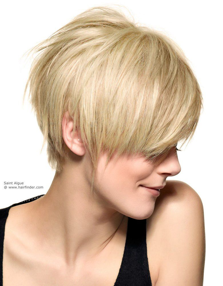 Coupe Courte Effilee Cheveux Fins Hairstyles Coiffures