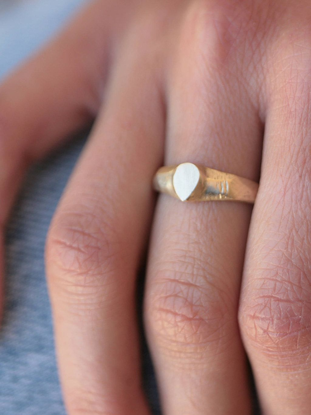 Solid gold ring, Modern gold jewelry, Boho gold ring, Women\'s gold ...