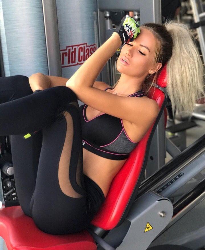 Edging fucking a fitness girl